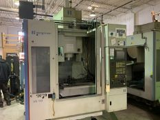 "HARDINGE BRIDGEPORT XR760 CNC VMC PRODUCTION CENTER 30""X24""X24"". YEAR 2007, SN 310D418"