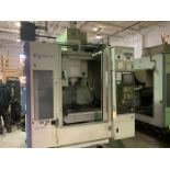 "HARDINGE BRIDGEPORT XR760 CNC VMC PRODUCTION CENTER 30""X24""X24"". YEAR 2007, SN 310D418"