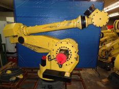 FANUC M900iA/260L 6 AXIS ROBOT WITH R30iA CONTROLLER, TEACH PENDANT & CABLES, SN F85560, YEAR 2007