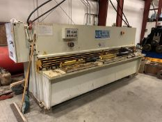 U.S. INDUSTRIAL MACHINERY SHEAR, MODEL US 1025 10' X .25, YEAR 2006, SN J2005-200