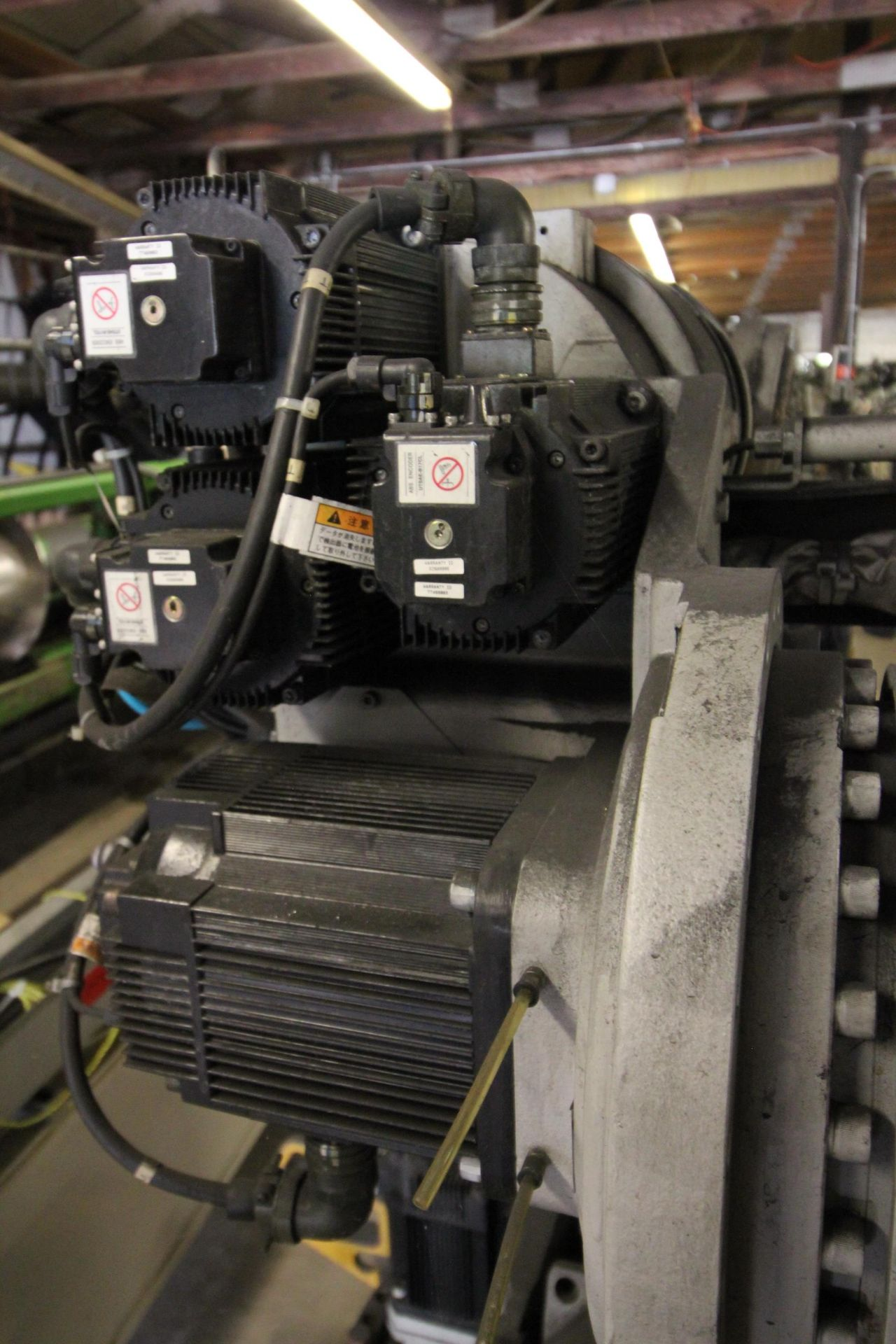 MOTOMAN ROBOT ES200N, NX100 CONTROL, SN S5M255-1-2, YEAR 2006, CABLES AND TEACH PENDANT - Image 3 of 11