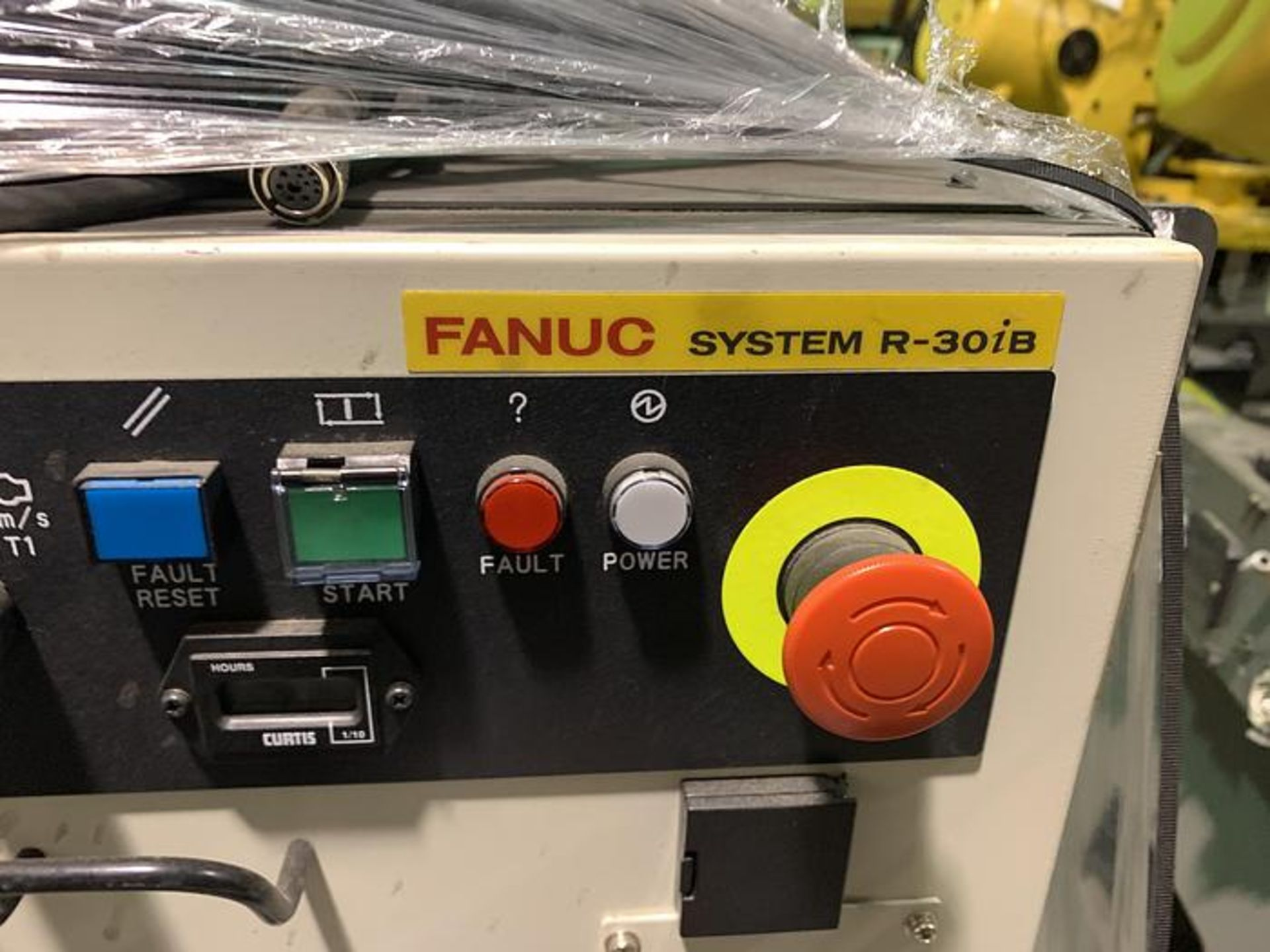 FANUC ROBOT R2000iC/125L 6 AXIS ROBOT WITH R30iB CONTROLLER, IR VISION, SN 194246, CABLES & TEACH - Image 12 of 19