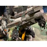 MOTOMAN ROBOT MH6 HIGH SPEED 6 AXIS ROBOT WITH DX100 CONTROLLER, SN S86D23-1-1, YEAR 2009