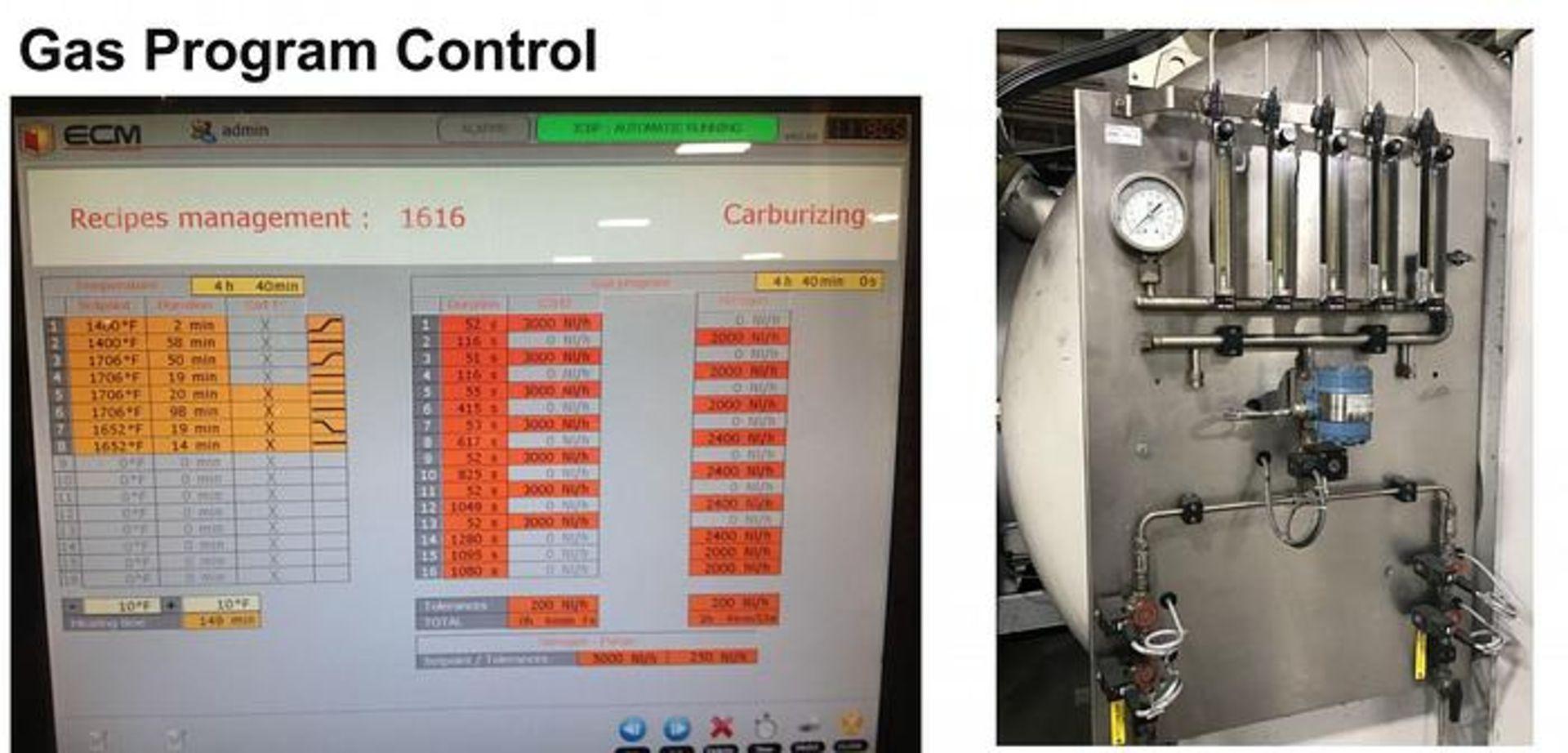 ECM TECHNOLOGIES VACUM CARBURIZING FURNACE, NEW 2013, SN 3100-500 - Image 10 of 50