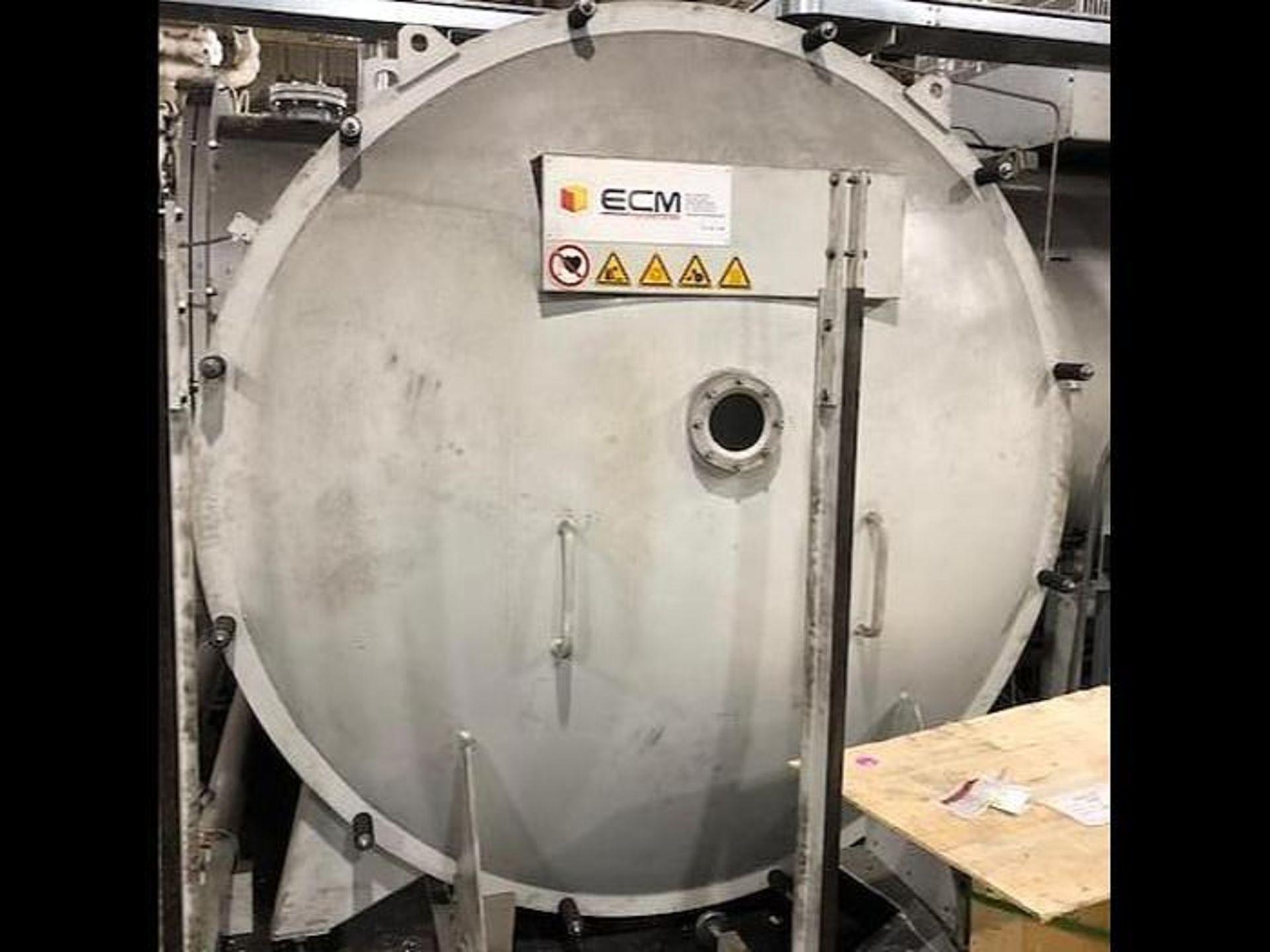 ECM TECHNOLOGIES VACUM CARBURIZING FURNACE, NEW 2013, SN 3100-500 - Image 17 of 50