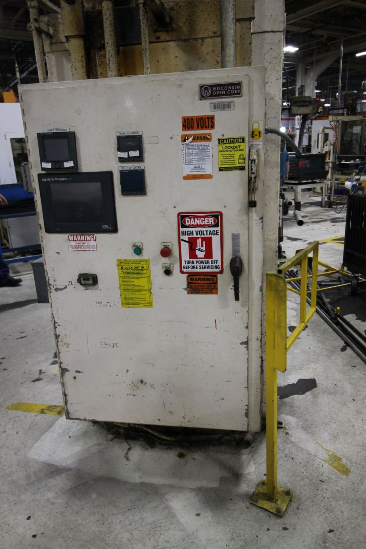 2- WISCONSIN OVEN CORP MODEL EWN-43-5E, BT 140094 & 140153 , 500 DEGREE OVEN - Image 3 of 6