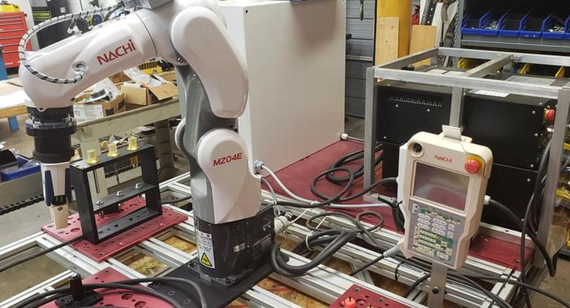 NACHI MZ04E 6 AXIS CNC COLLABRATIVE ROBOT 4 KG X 541 MM REACH NEVER USED BUILT 2018 - Image 2 of 8