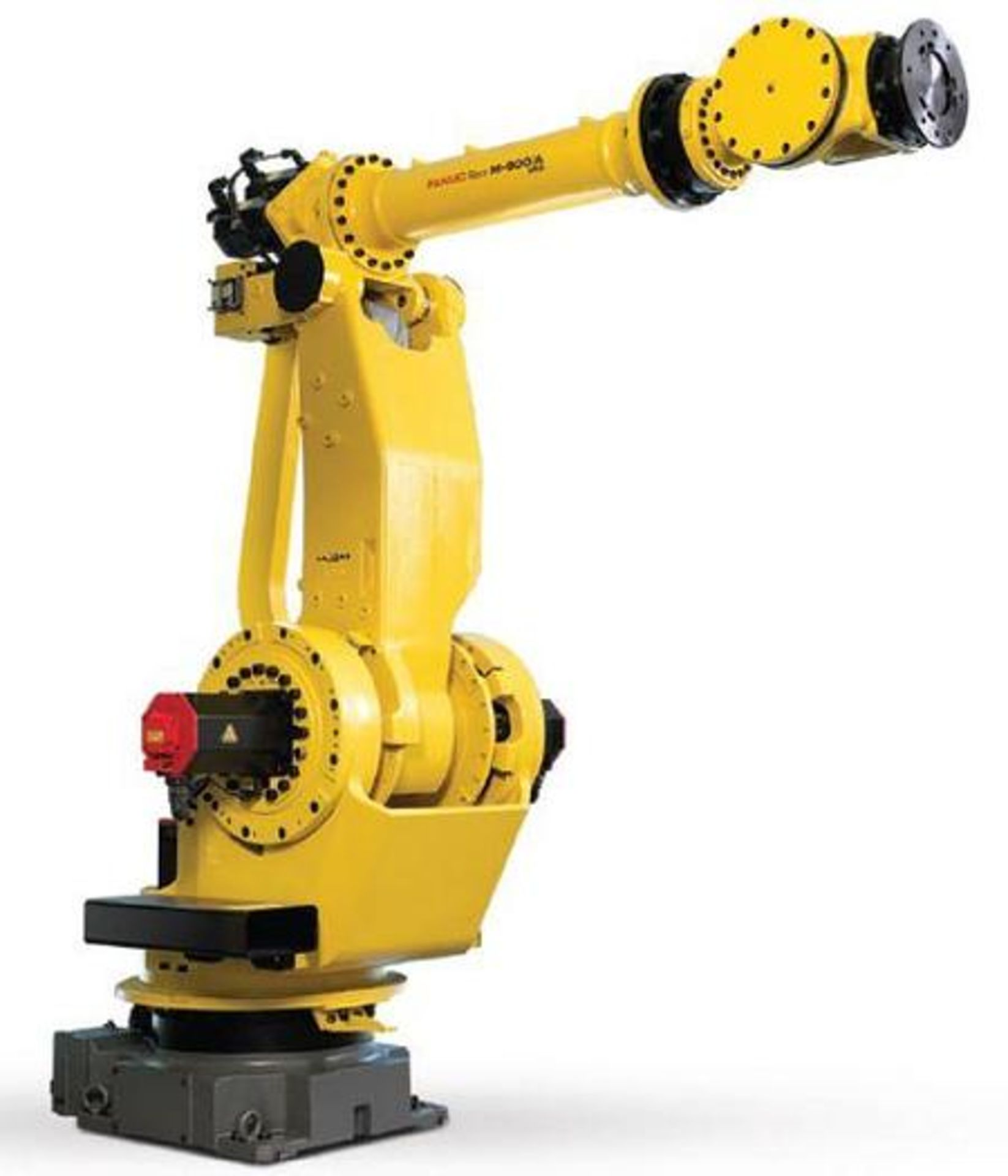 FANUC M900iA/350 6 AXIS ROBOT WITH R30iA CONTROLLER, CABLES & TEACH, SN F111705, YEAR 2011 - Image 5 of 5