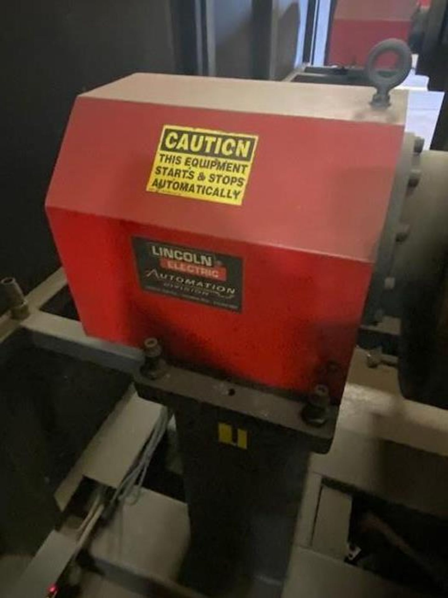 FANUC/LINCOLN DUAL TRUNION WELD CELL, FANUC ROBOT ARCMATE 120iB/10L WITH R-J3iB CONTROL - Image 7 of 11