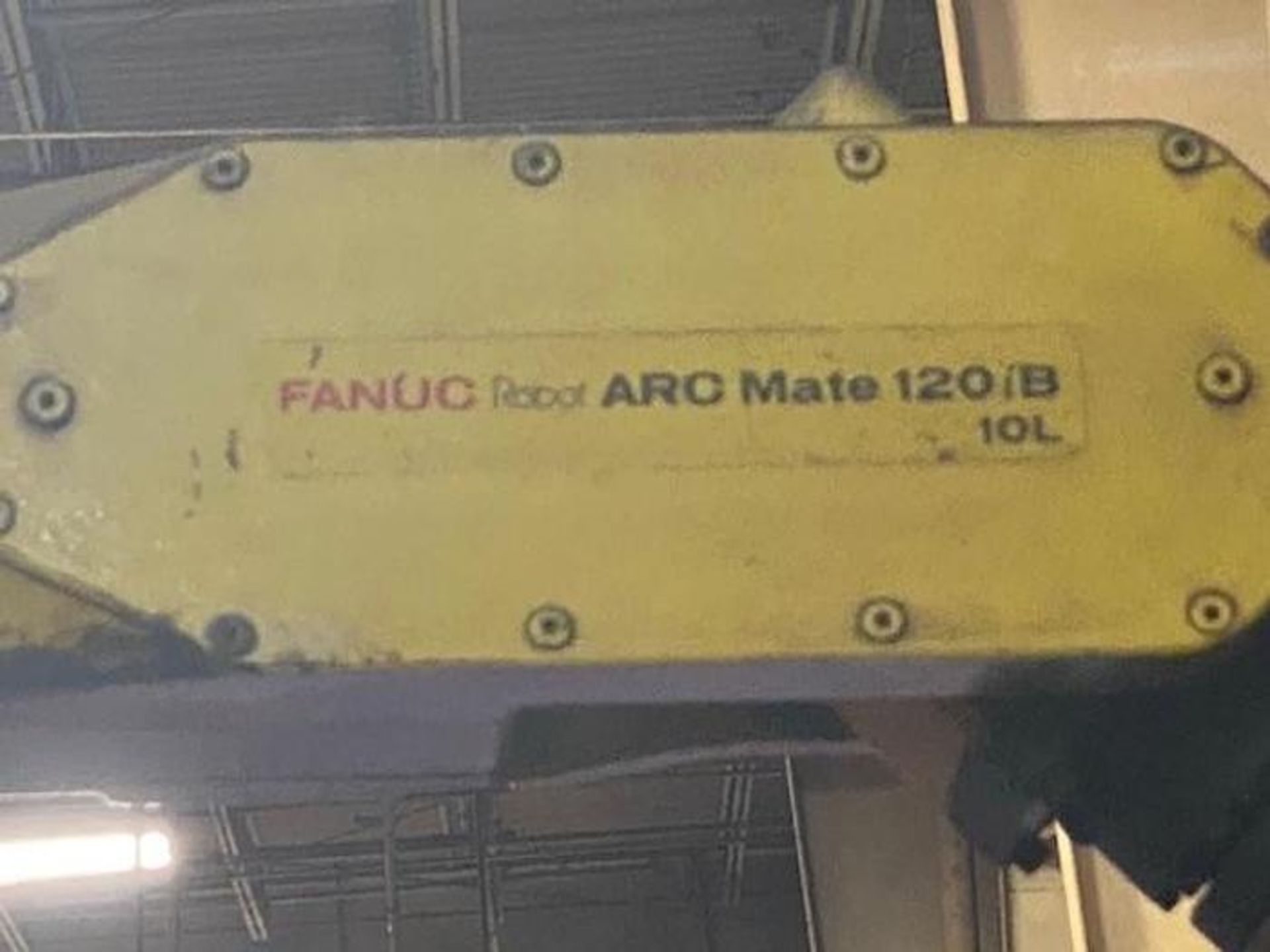 FANUC/LINCOLN DUAL TRUNION WELD CELL, FANUC ROBOT ARCMATE 120iB/10L WITH R-J3iB CONTROL - Image 4 of 11