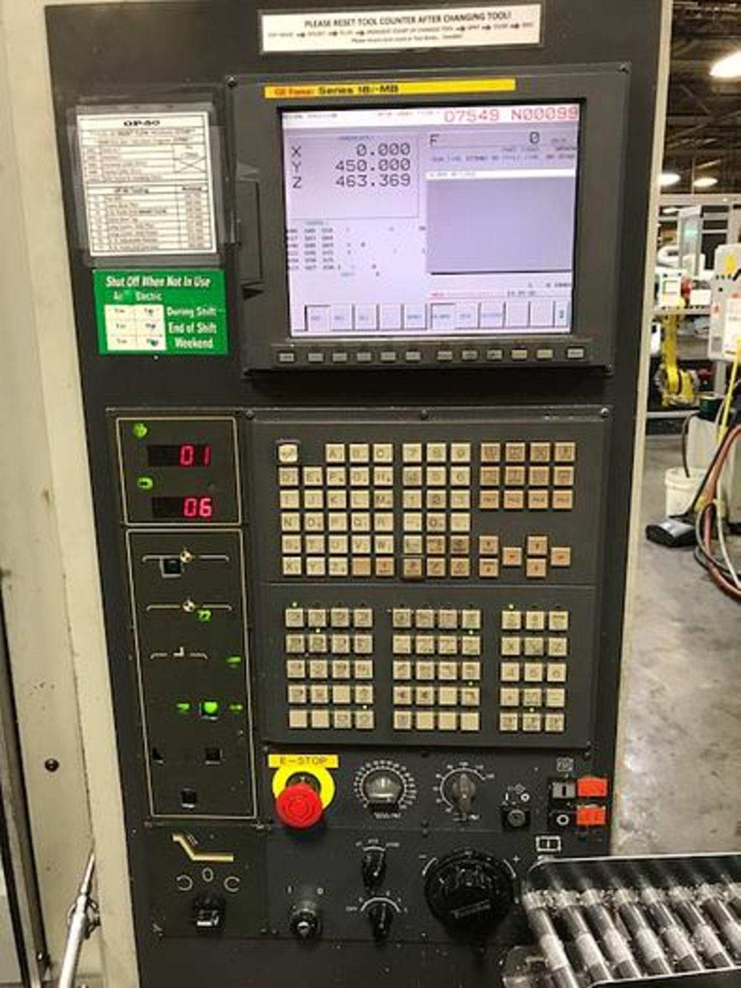 "HARDINGE XR760 CNC VMC PRODUCTION CENTER 30""X24""X24"", YEAR 2010, SN XRAB0A0001 - Image 3 of 12"