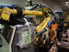 FANUC ROBOT R2000iB/185L WITH R30iA CONTROLLER, TEACH & CABLES, YEAR 2013, SN 132164