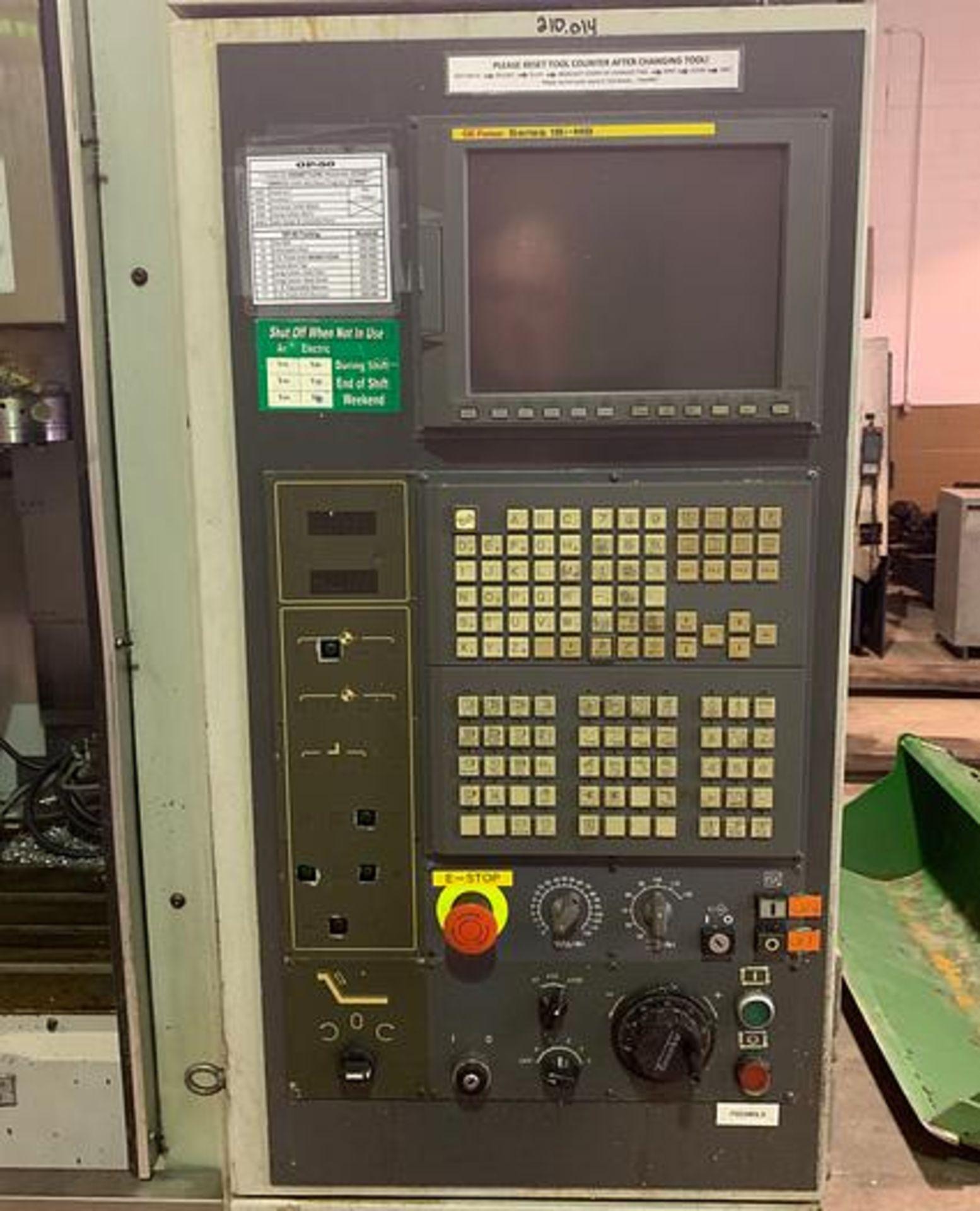 "HARDINGE XR760 CNC VMC PRODUCTION CENTER 30""X24""X24"", YEAR 2010, SN XRAB0A0001 - Image 2 of 12"