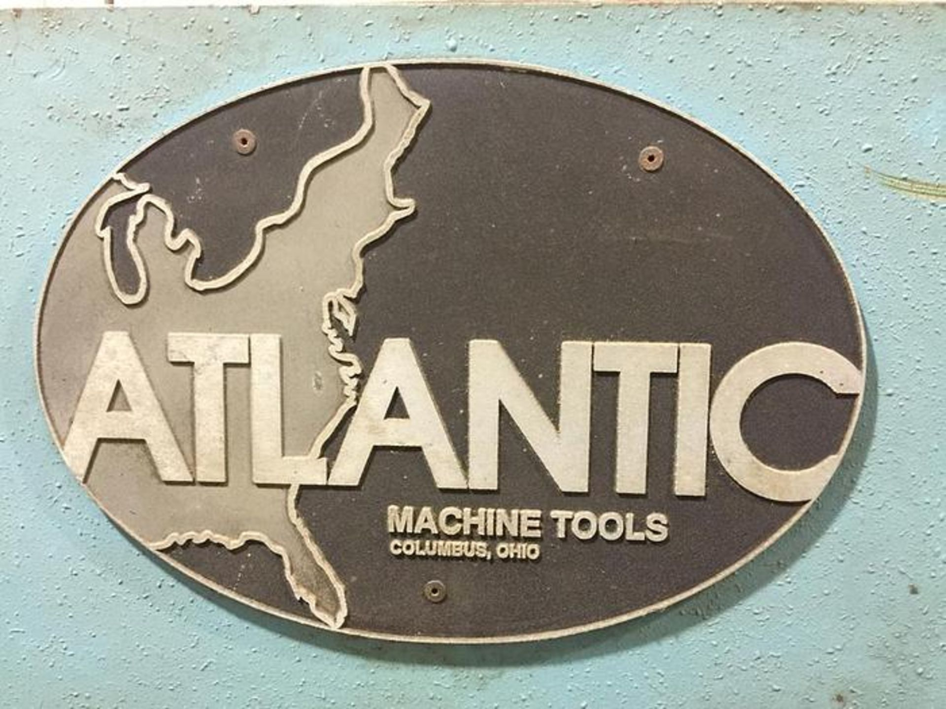 "ATLANTIC 10' X 1/4"" COST CUTTER HYDRAULIC POWER SQUARING SHEAR, SN 80-00-68 - Image 4 of 5"