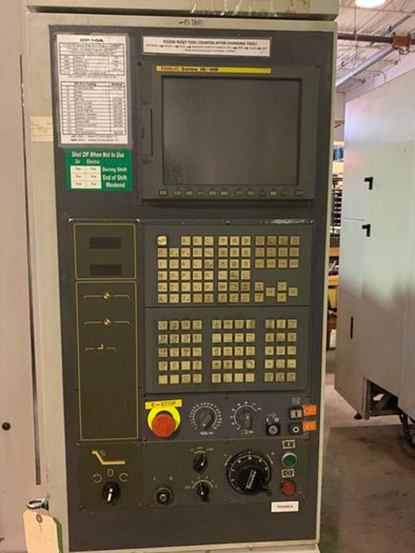 "HARDINGE BRIDGEPORT XR760 CNC VMC PRODUCTION CENTER 30""X24""X24"". YEAR 2007, SN 310D418 - Image 3 of 16"