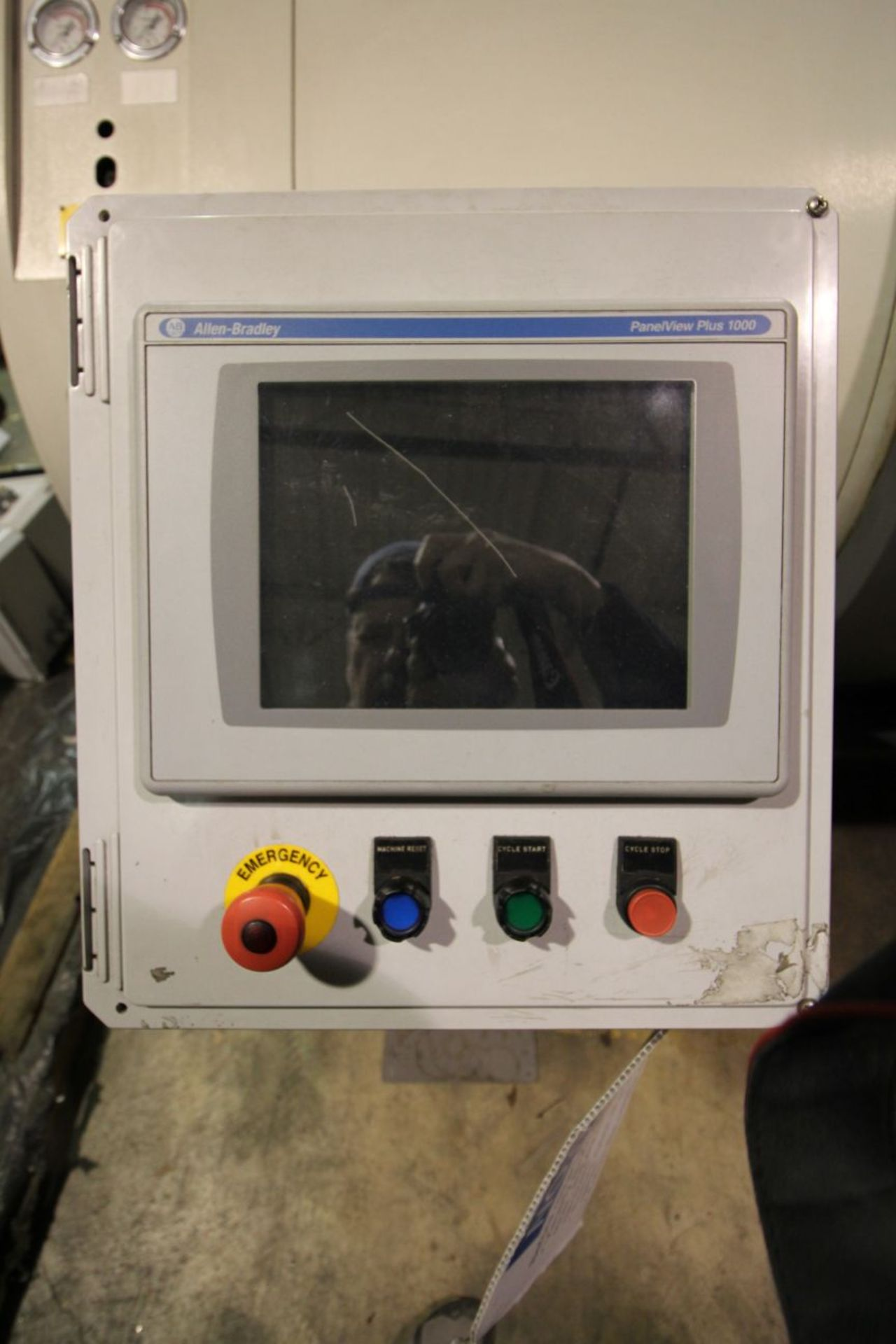 ALLEN BRADLEY PLC CONTROL, PANELVIEW PLUS 1000 CONTROL ON A STAND - Image 3 of 3