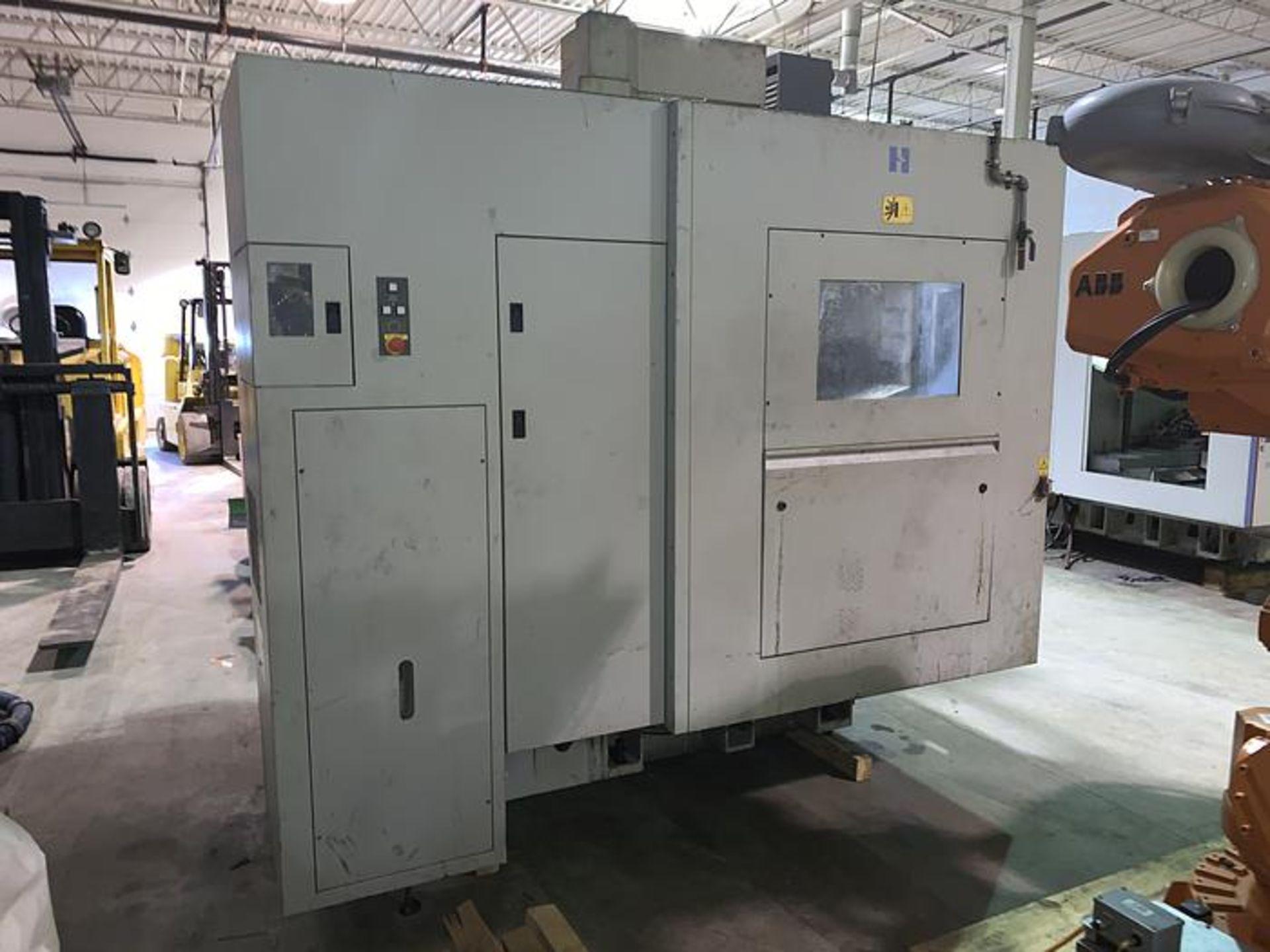 "HARDINGE XR760 CNC VMC PRODUCTION CENTER 30""X24""X24"", YEAR 2010, SN XRAB0A0001 - Image 5 of 12"