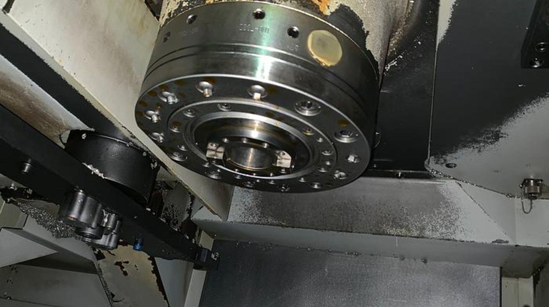 "HARDINGE XR760 CNC VMC PRODUCTION CENTER 30""X24""X24"", YEAR 2010, SN XRAB0A0001 - Image 10 of 12"