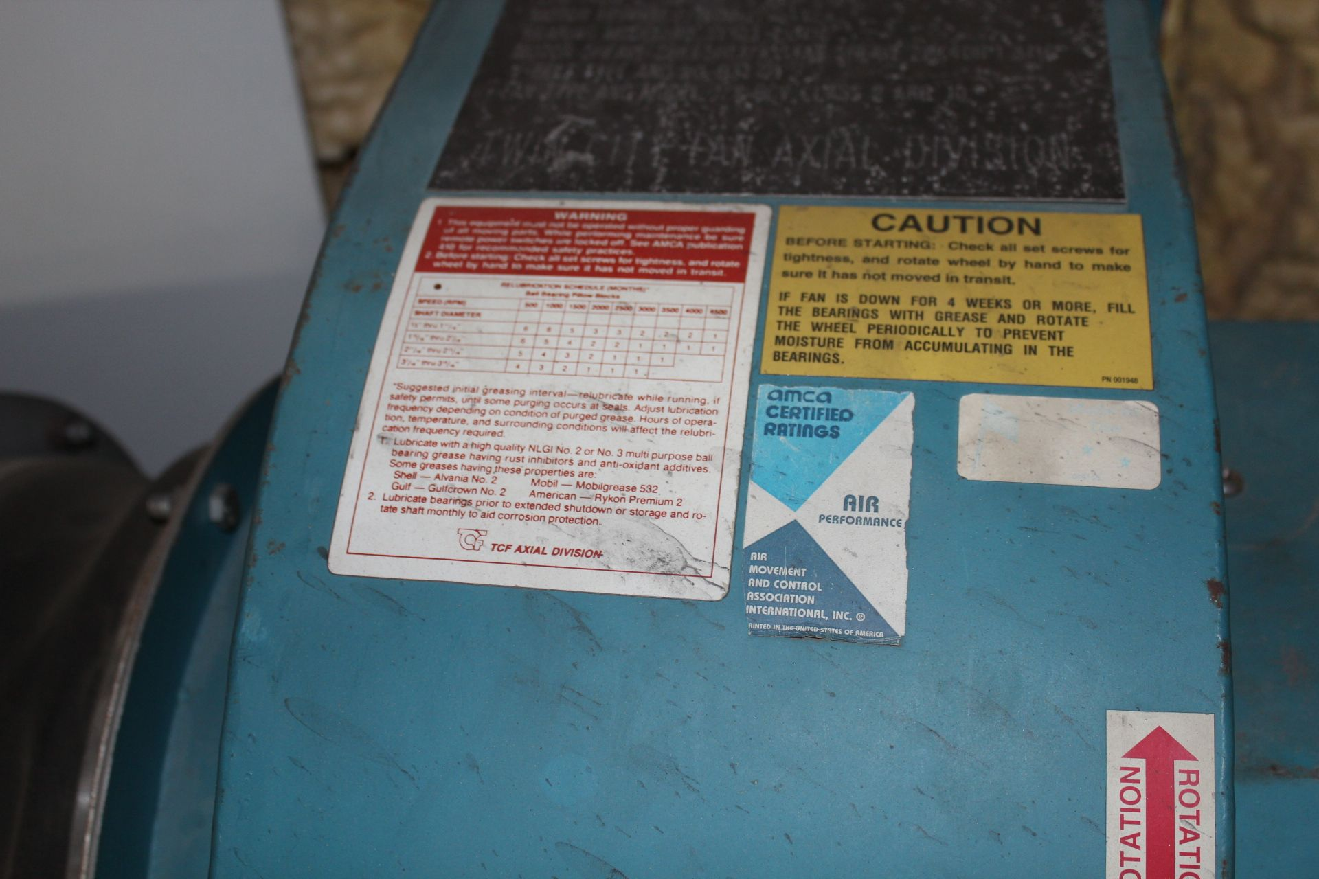 Lot 22 - CCI TV-12 Repair Stall Tailpipe Exhaust Disposal System