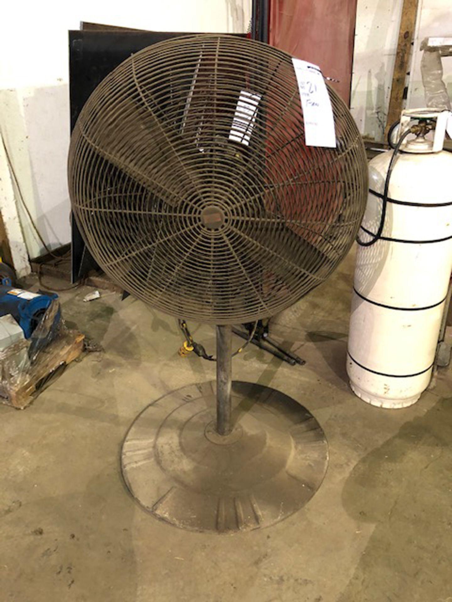 """Lot 81 - approx. 30"""" diameter, 2 blade fan"""
