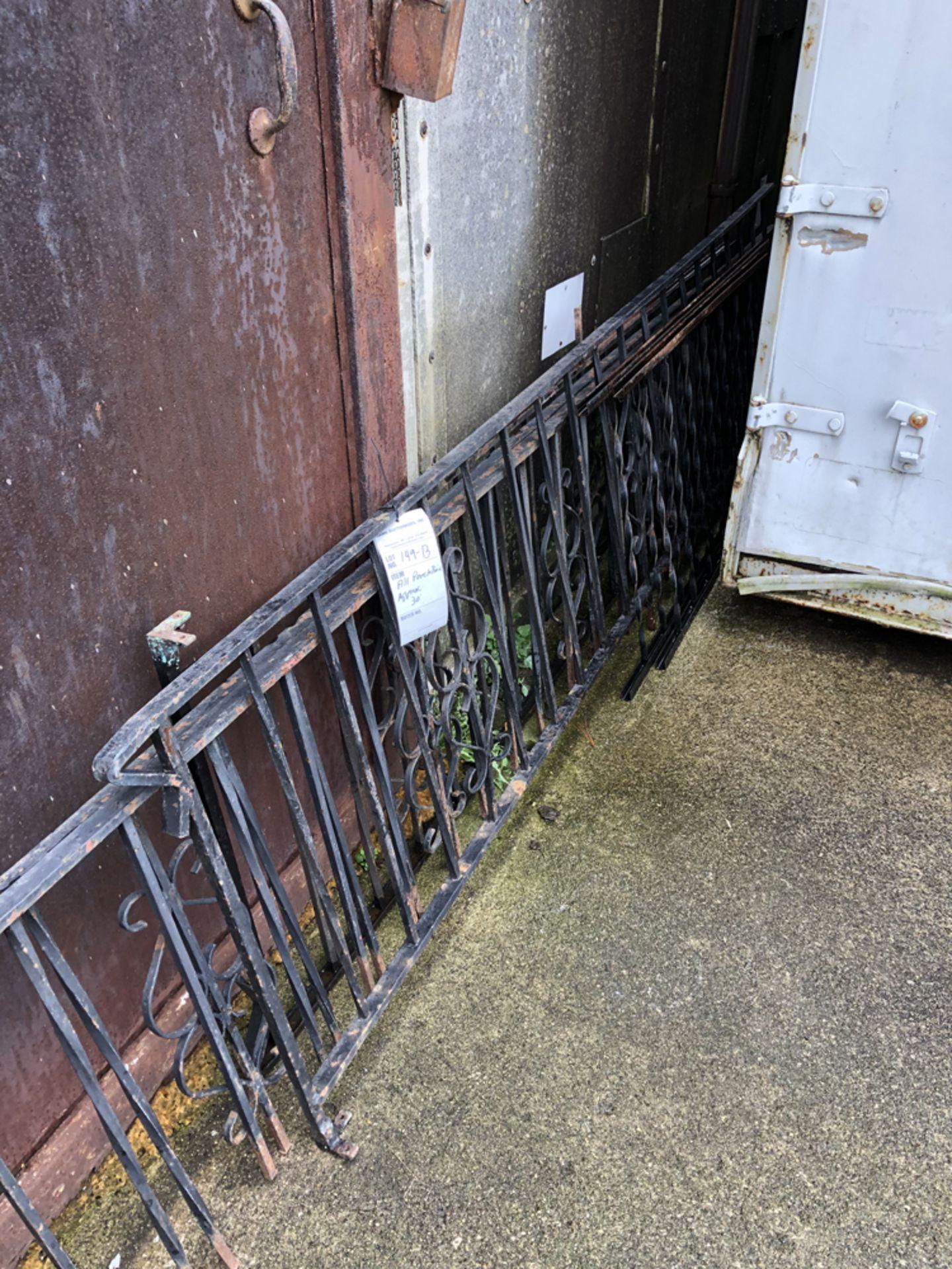 Lot 149b - porch railing