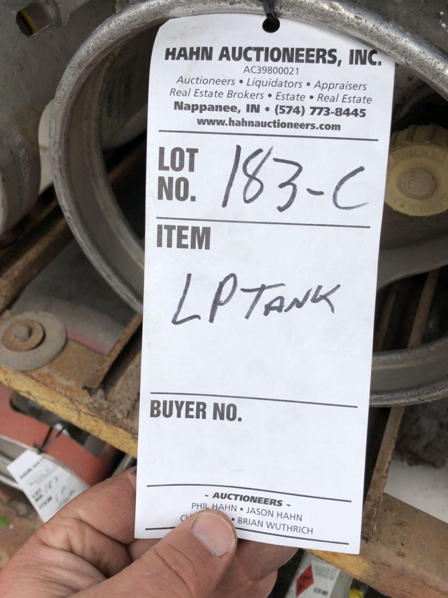 Lot 185c - lp tank