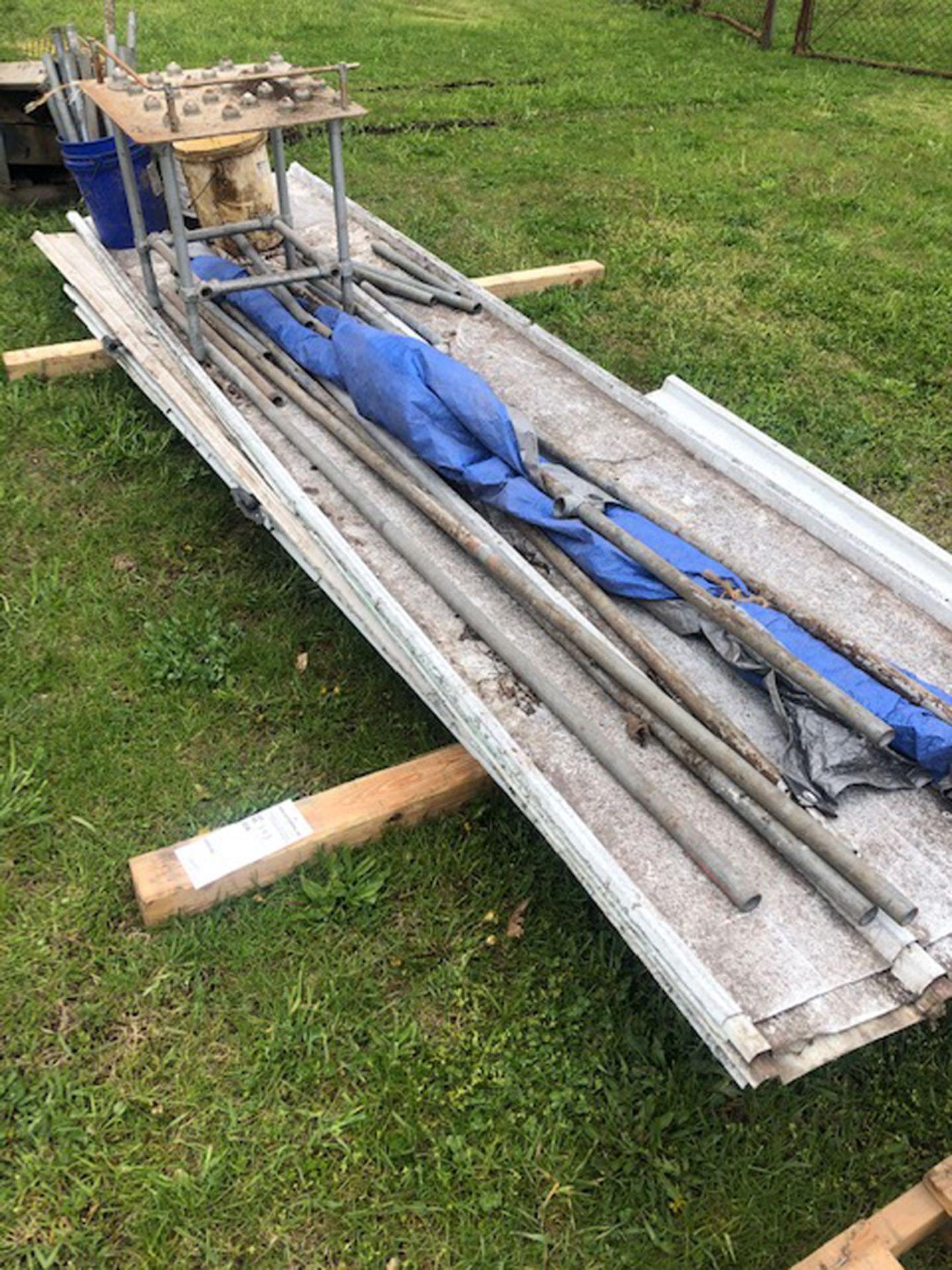 Lot 343 - skid of exterior siding
