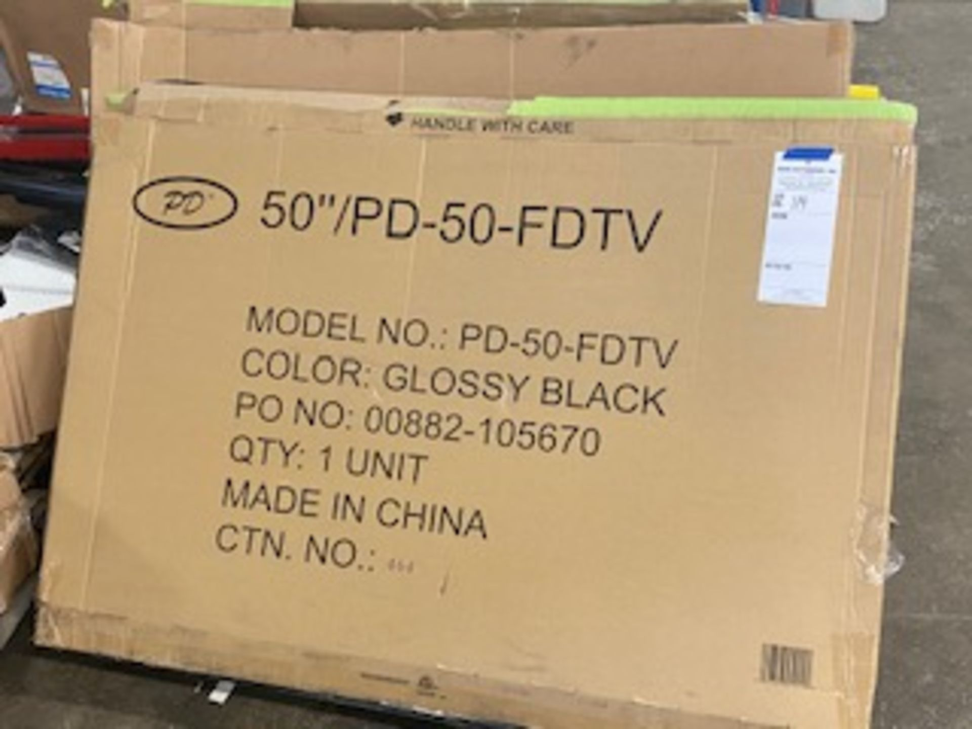 Lot 114 - 4x flat screen TVs as is condition