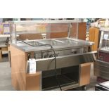 5' colorpoint electric food warmer model 5E3-CPA 1ph