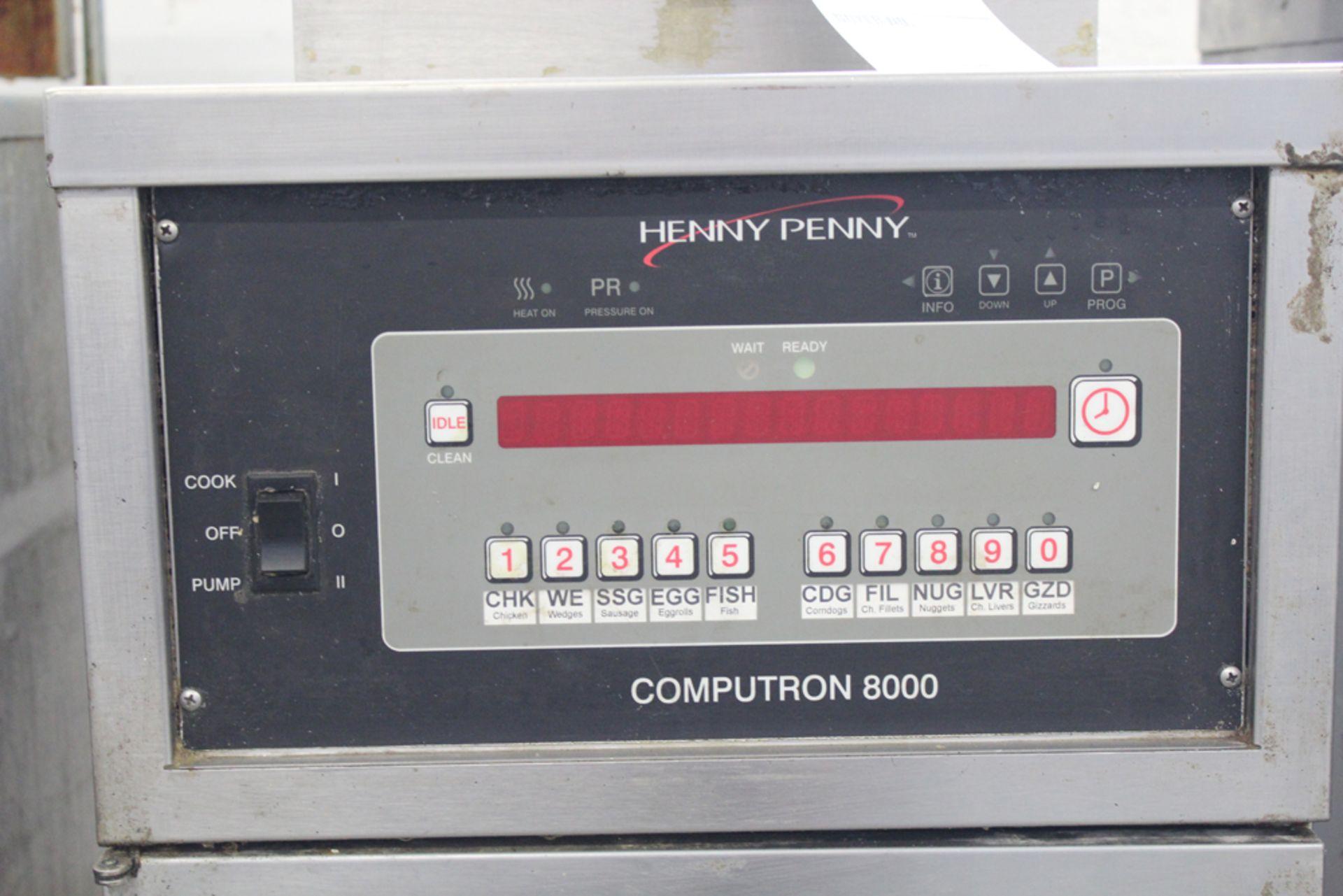 Lot 8 - Henny Penny computron 8000 gas