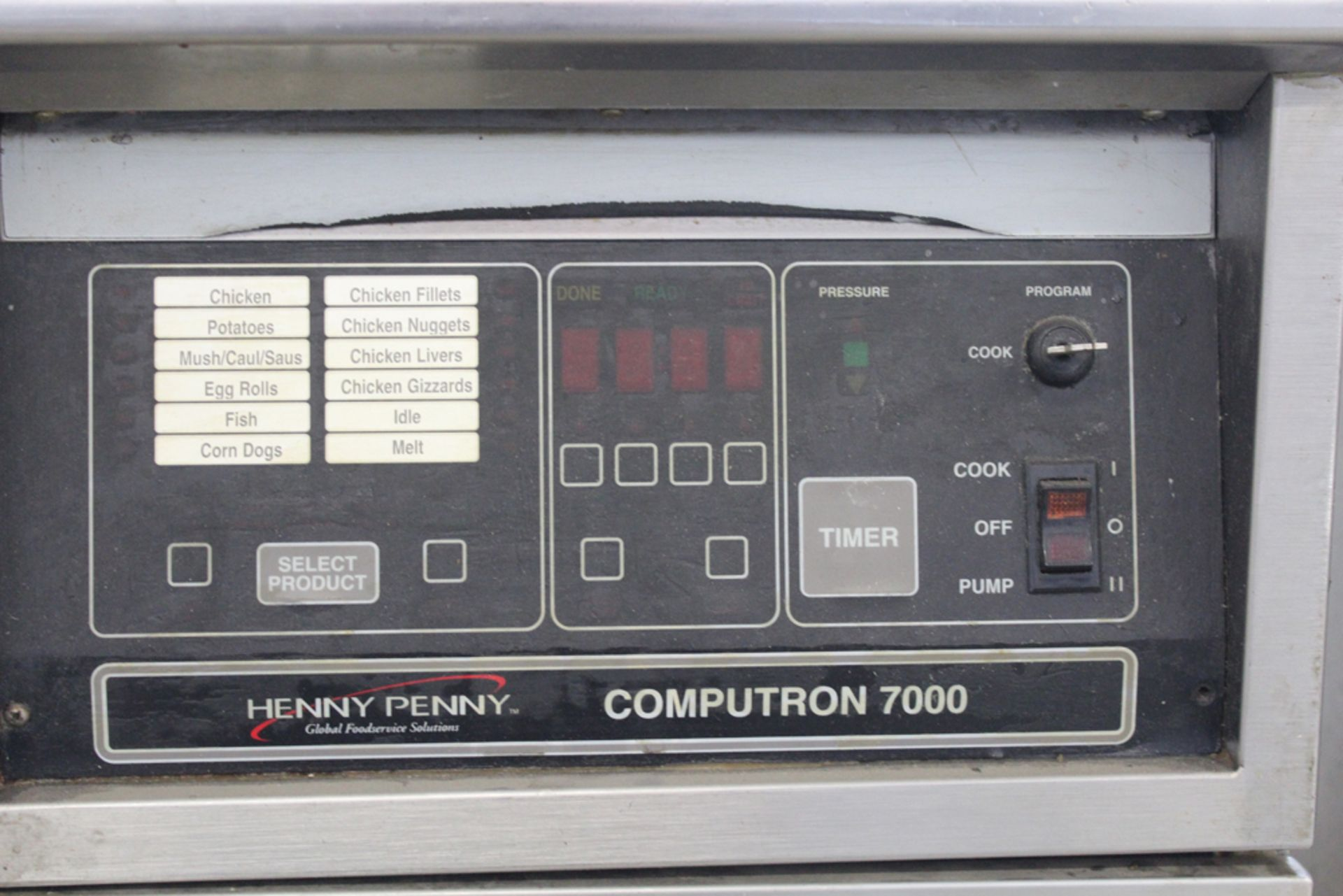 Lot 9 - Henny Penny computron 7000 electric