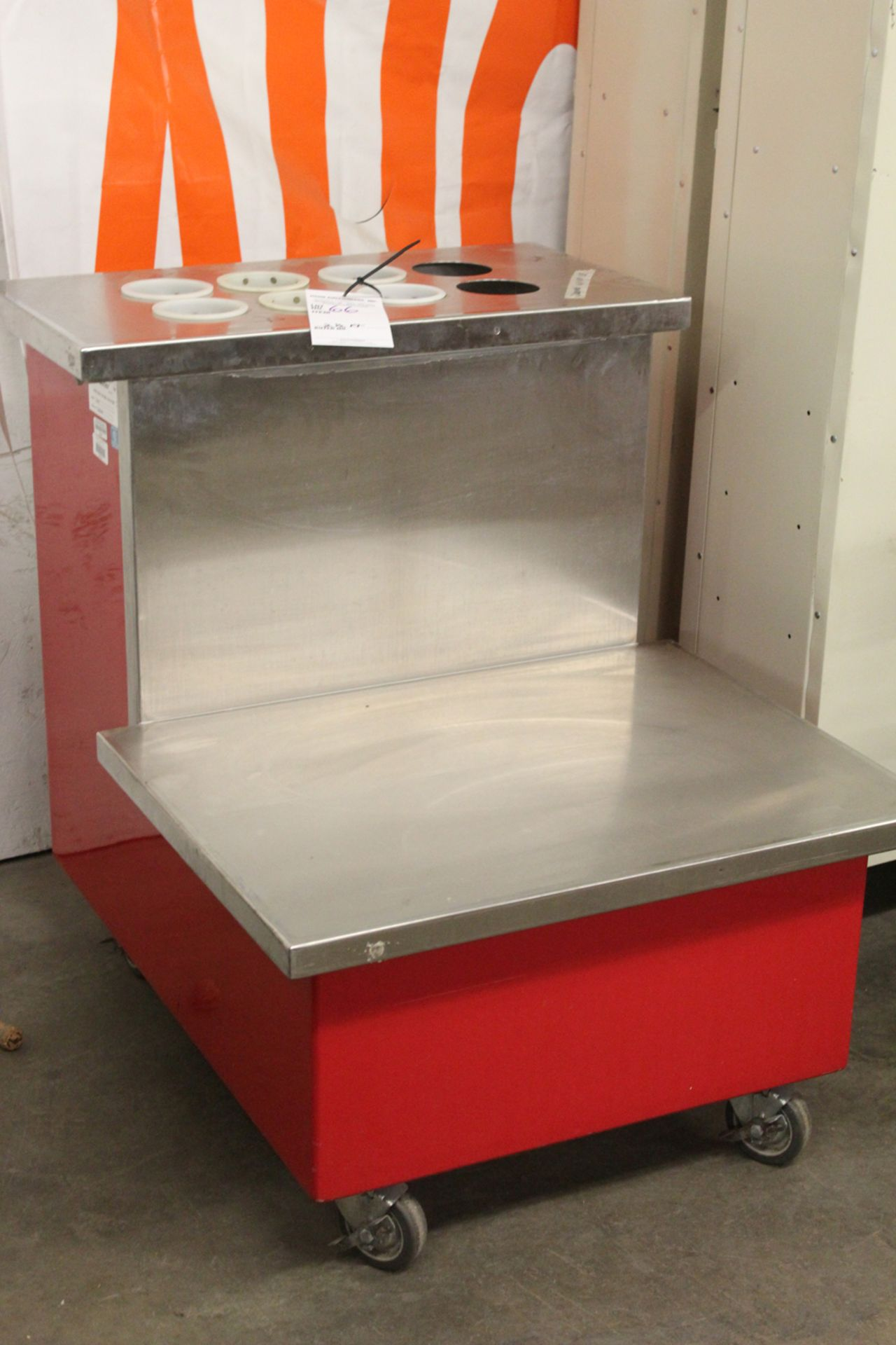Lot 66 - color point portable work counter mode 36-RTE
