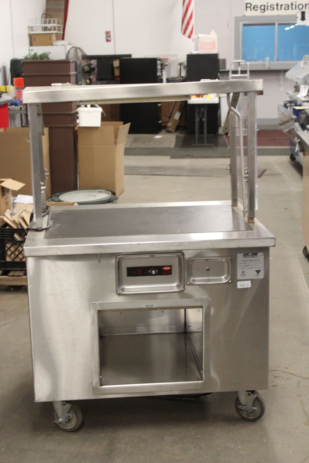 Lot 46 - low temp portable work counter model K36-ST
