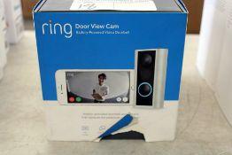 2x Ring doorbell cameras