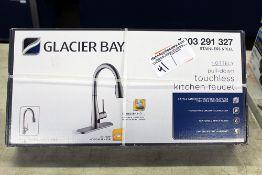 Touch-less kitchen faucet