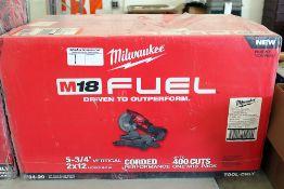 Milwaukee M18 chopsaw
