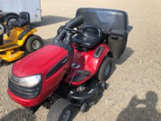 "CRAFTSMAN RIDING LAWN TRACTOR WITH 42"" DECK AND BAGGER, BRIGGS AND STRATTON ENGINE"
