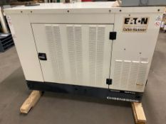 2007 OLYMPIAN SINGLE PHASE NATURAL GAS STANDBY COMMERCIAL GENERATOR LIQUID COOLED 25,000 KW ONLY 116