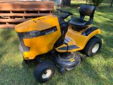 "CUB CADET LT 42""  RIDING LAWNMOWER ONLY 79 HOURS REALLY CLEAN"