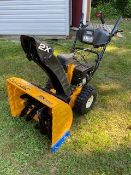 CUB CADET SNOWBLOWER LIKE NEW CONDITION ELECTRIC START GAS ENGINE VERY LITTLE USE