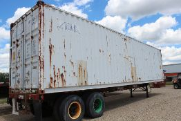 40' SHIPPING CONTAINER ONLY - DOES NOT INCLUDE CHASSIS