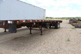 50' TRUSS TRAILER W/ROLLERS AND TILTS W/TITLE