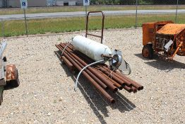 PIPE & TANK WITH CART