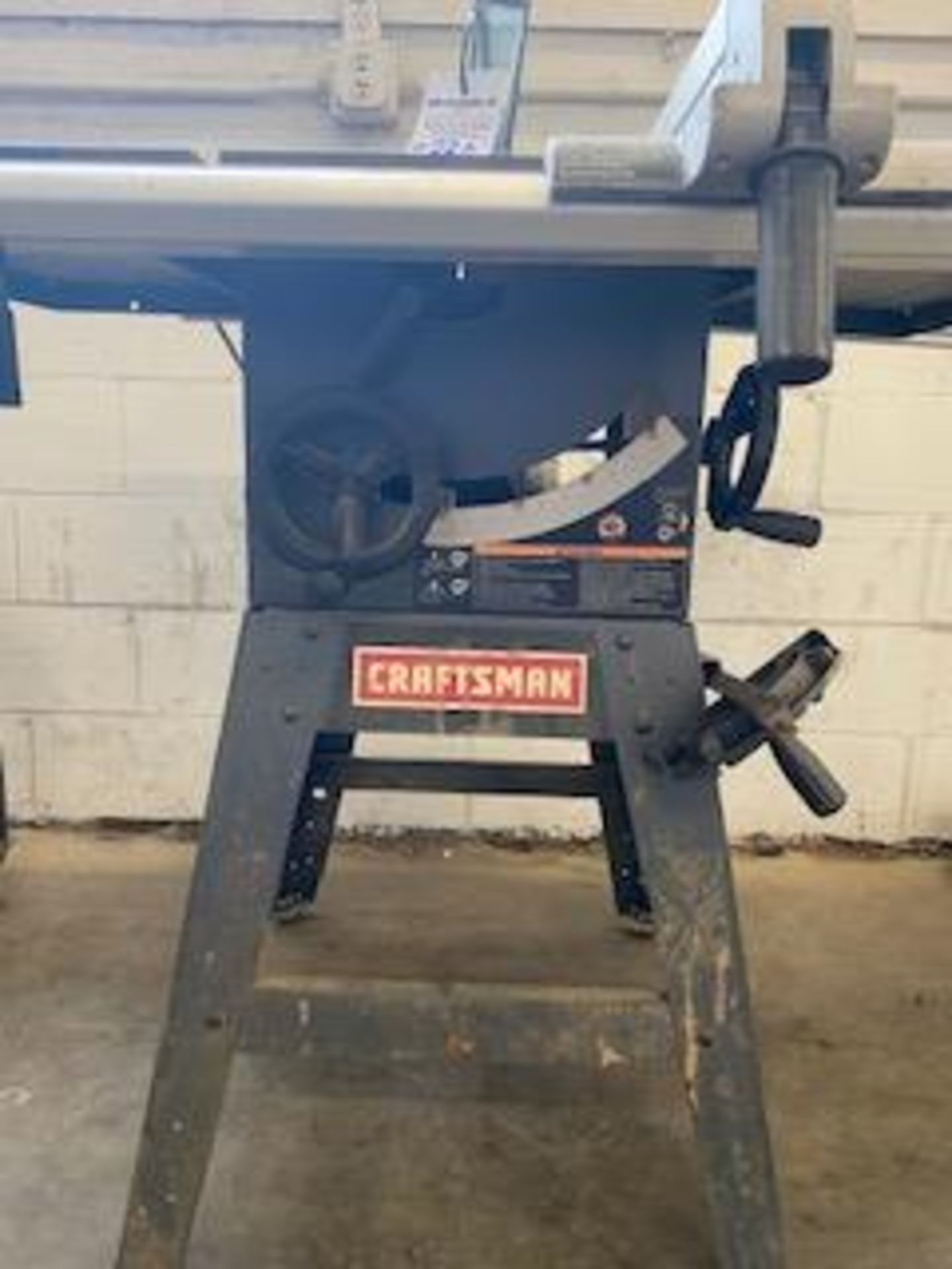 "Lot 330 - CRAFTSMAN 10"" TABLE SAW"