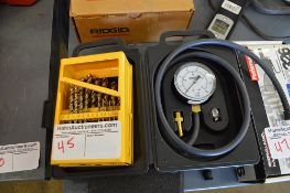 TOOL GAUGES AND DRILL BITS