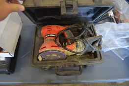 SMALL AIR COMPRESSOR AND BLACK AND DECKER SANDER