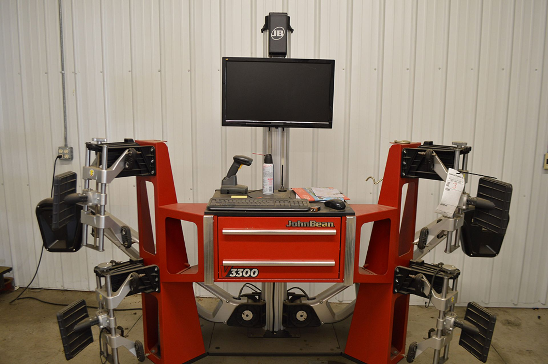 Lot 3 - JOHNBEAN V-3300 VEHICLE ALIGNMENT SYSTEM