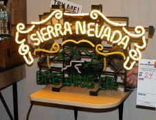 Sierra Nevada Brewing top lights bottom does not