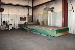 Vicon Plasma Automation Inc. Dual Twin Drive Cutting Table c/w: Hypertherm Max 100 Plasma System; Ex