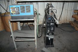 "Miller Resistance 20KVA Spot Welder 1/2"" Gapx14"" Throat USED FOR SPARE PARTS Model #SSW=2020ATT C/"